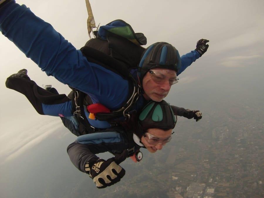 Skydiving as Tandem Passenger